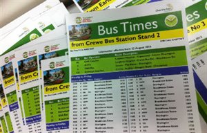 Cheshire East Bus Network update